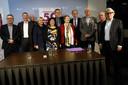Kandidaten op de lijst van 50PLUS voor de Tweede Kamerverkiezingen.