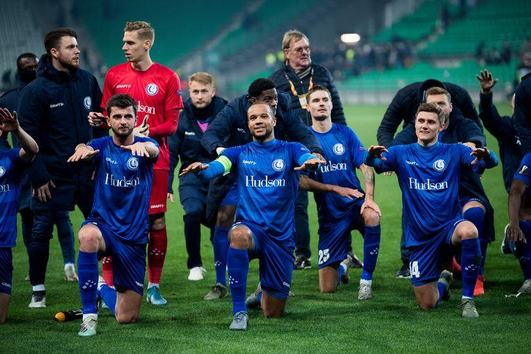 AA Gent  doet het op dit moment uitstekend in de Europa League. Daar genieten ze best van want vanaf 2021 zal er geen Europa Leaguevoetbal meer weggelegd zijn voor onze nummer drie en vier.