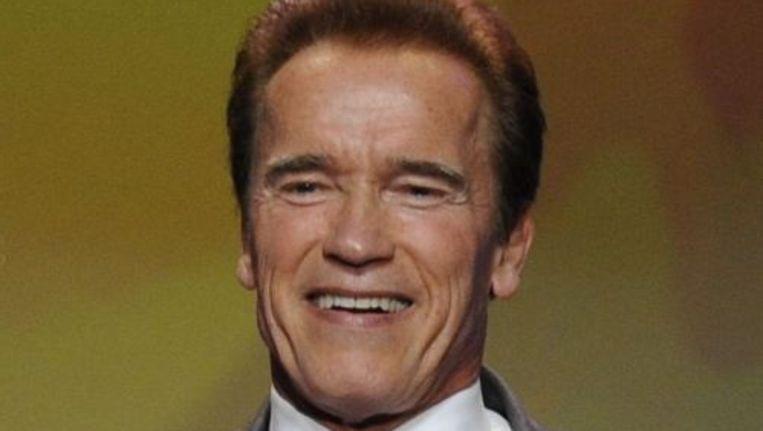 Arnold Schwarzenegger is nog even de gouverneur van Californië. ANP Beeld