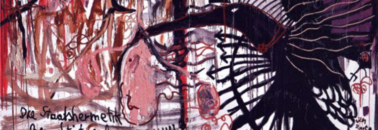 Jonathan Meese, Hermetische Hierachie der Geilheitin Beeld