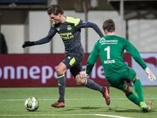 FC Oss kansloos onderuit tegen Jong PSV