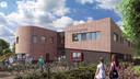 Zo komt het nieuwe schoolgebouw van De Brug eruit te zien.