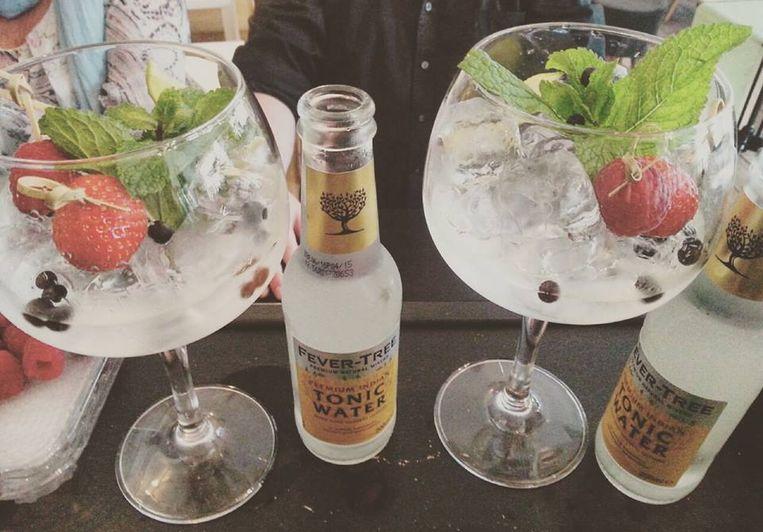 La Promesa voorziet gin-tonics bij de vleet!