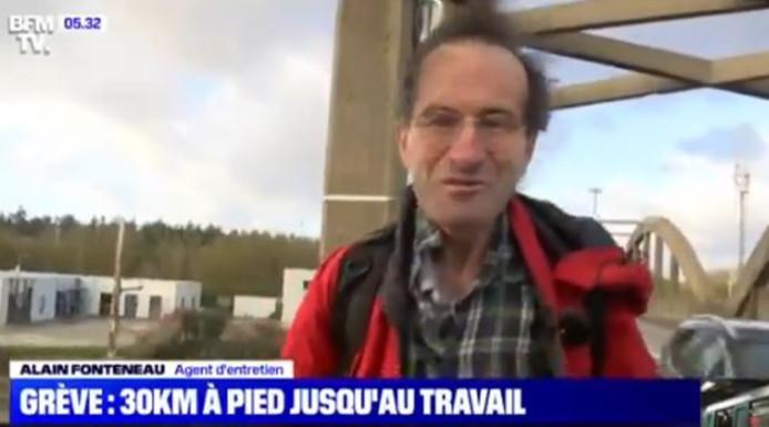 Agent d'entretien à Paris, Alain Fonteneau habite dans les Yvelines