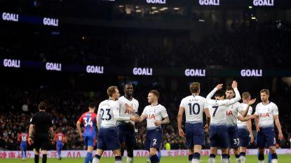 FOTO. Tottenham wijdt nieuw stadion in met zege tegen Crystal Palace