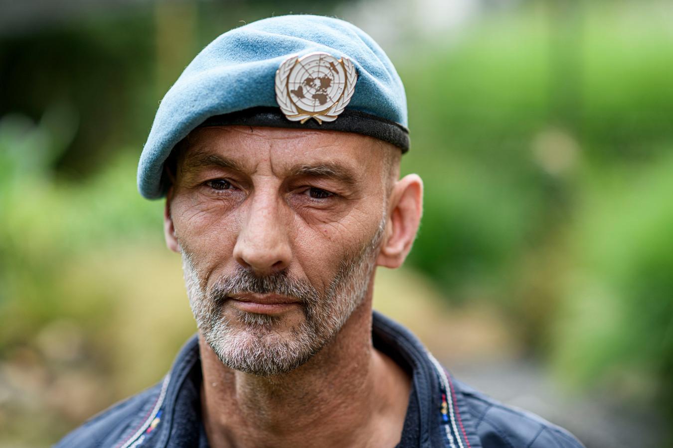 Dutchbat-veteraan Leon Kok zat uiteindelijk ook in de val in Srebrenica.