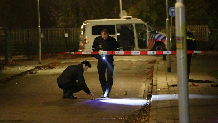 Politieonderzoek na de liquidate van Eaneas Lomp in Krommenie. Beeld anp