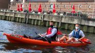Recreatief initiatief houdt Binnendijle netjes: Kajakken voor proper water