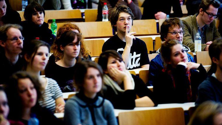 Drie keer zoveel buitenlandse studenten willen psychologie studeren Beeld ANP