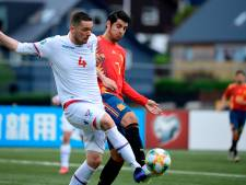 Gezin Morata overvallen tijdens interland