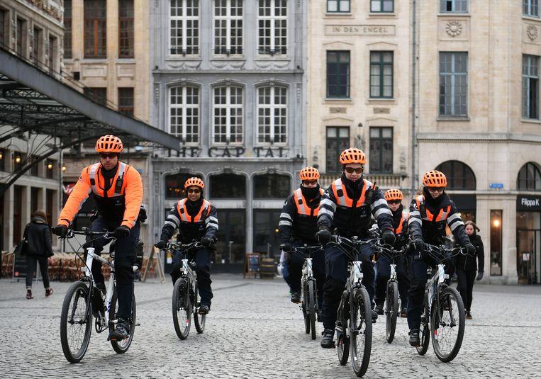 Fietsteam politie Leuven is ondertussen een half jaar met succes bezig