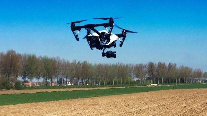 Drones boven Huldenberg