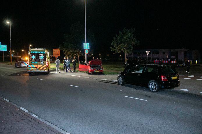 Bij een ongeluk op de Westervoortsedijk in Arnhem is één persoon gewond geraakt.