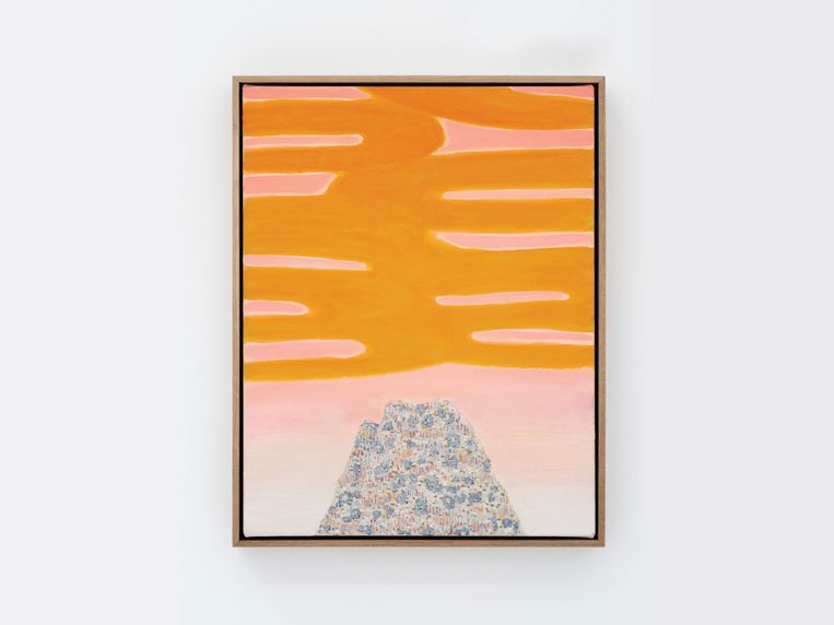 Untitled II (Yellow Rise), William Monk Beeld Grimm Gallery