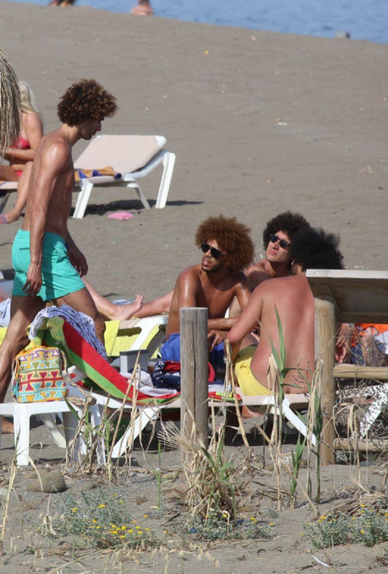 De Fellaini's trokken naar het Spaanse Marbella.