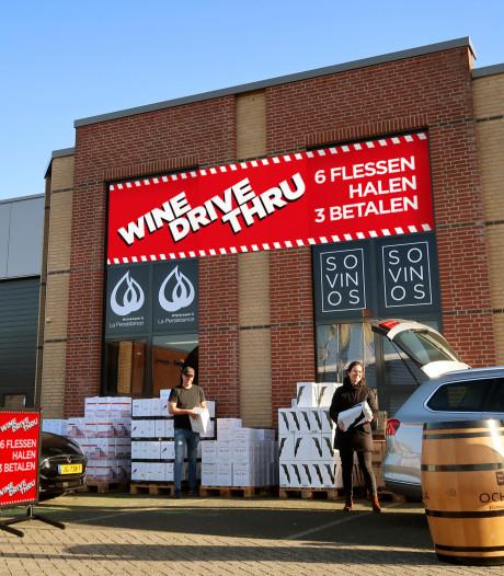 Toch geen afhaalwijntje kopen in de Wine drive-thru van Breda: mag niet van burgemeester