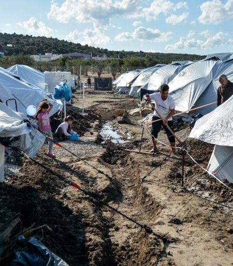 Oxfam: nieuw migrantenkamp op Lesbos erger dan Moria