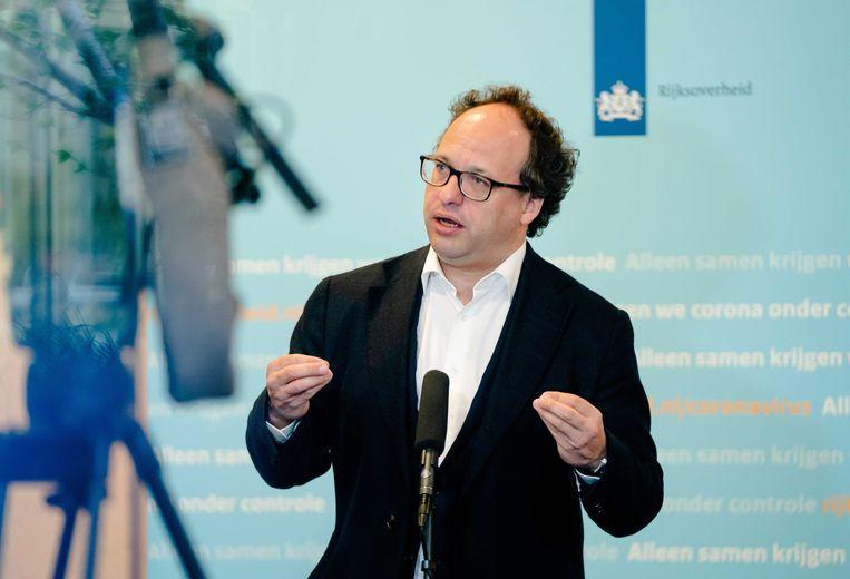 Minister Wouter Koolmees van sociale zaken en werkgelegenheid (D66). Beeld ANP