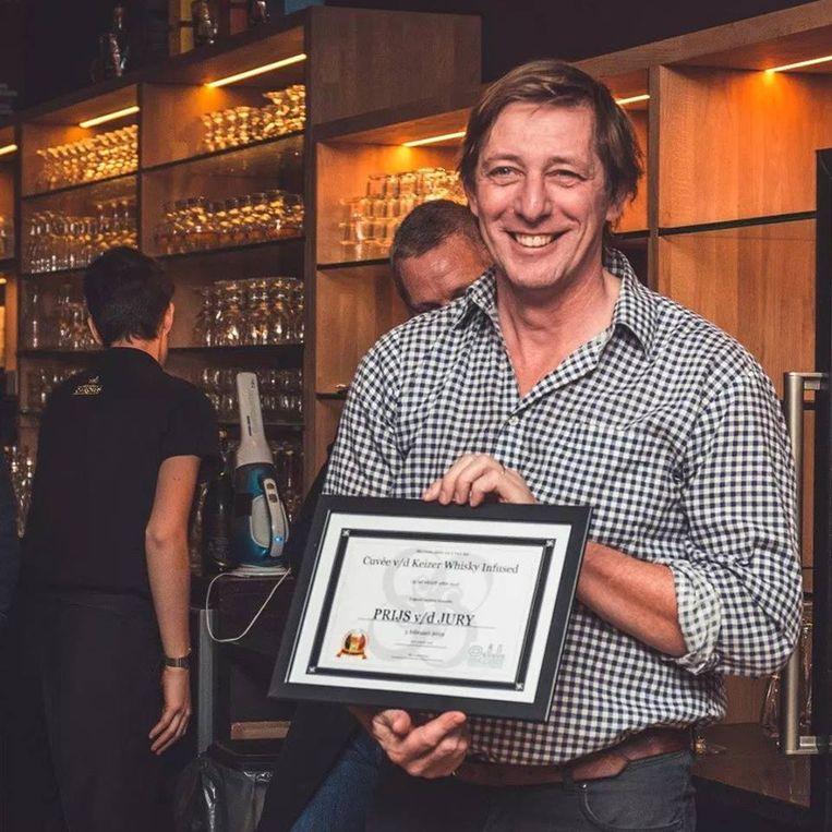 Charles Leclef van brouwerij Het Anker in Mechelen won verschillende prijzen tijdens de Beer Awards