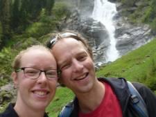 Ondertussen in het pension van Jeroen en Annemijn in Oostenrijk: 'Met gezond verstand er weer tegenaan'