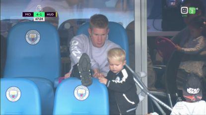 De Bruyne ziet City zes keer scoren