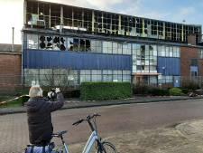 Oud bedrijfspand in Eerbeek groeit na brand uit tot een bezienswaardigheid