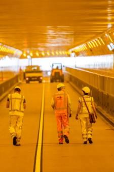Maastunnel tijdelijk niet bereikbaar voor voetgangers