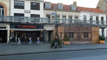 Man lost schoten op Grote Markt in Turnhout