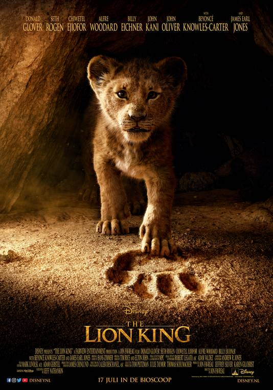 The Lion King filmposter  Character poster