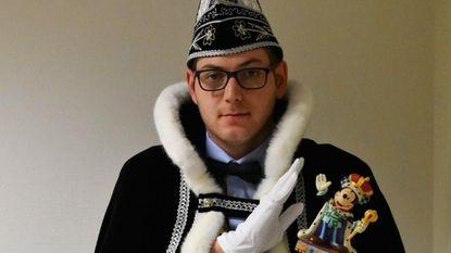 Na jaren hofnar is Christophe (25) nu Prins Carnaval
