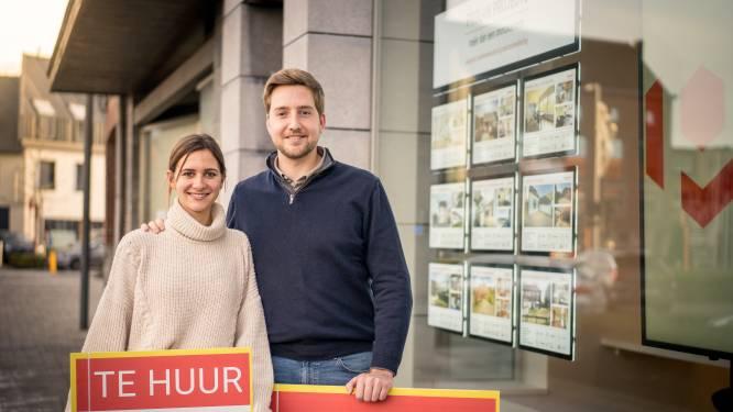 """Thomas (26) en Laura (24) openen vastgoedkantoor Prolan Projects: """"Meer dan zomaar huizen verkopen"""""""