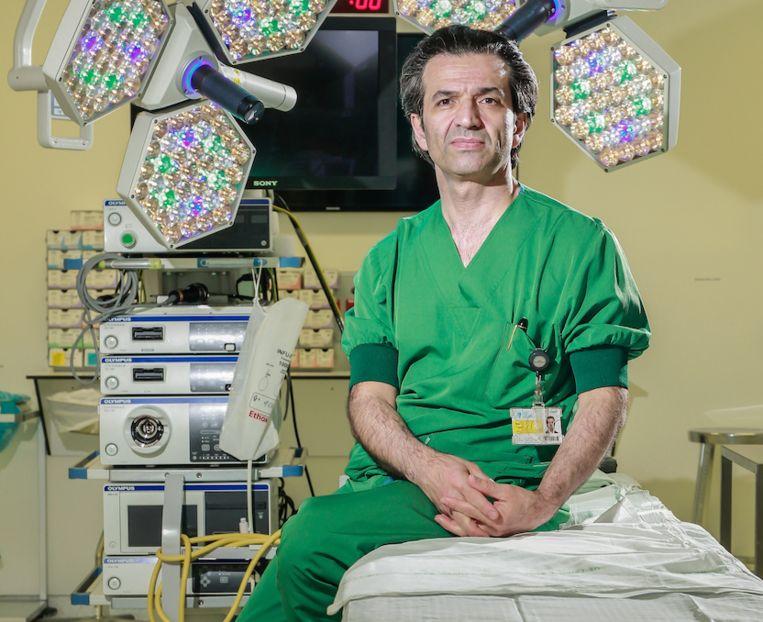 Baki Topal, specialist pancreaskanker aan het UZ Leuven