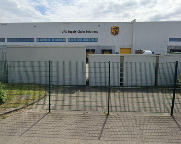 Het distributiecentrum van UPS in Roermond