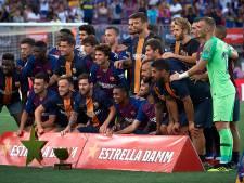 Barça wint met invaller Cillessen Joan Gamper Trofee