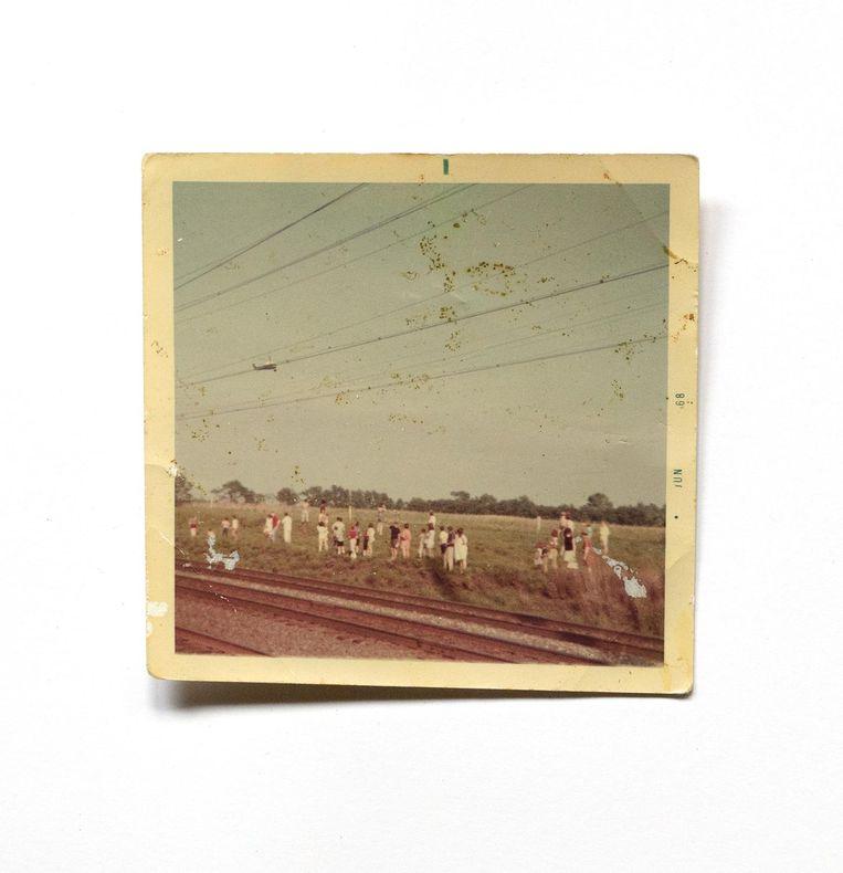 Foto uit het archief van Mary Sue Newton uit Newark. Beeld