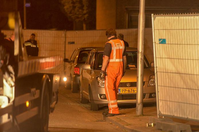 Politie-onderzoek naar een van de vijf liquidaties in Eindhoven.