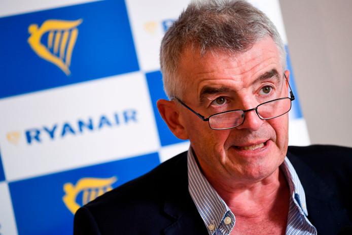 Michael O'Leary, de topman van Ryanair.