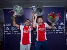 FIFA-kampioenen Tjardo en Dani wonnen 25.000 euro bij online eDivisie: 'Je mist de fans wel'