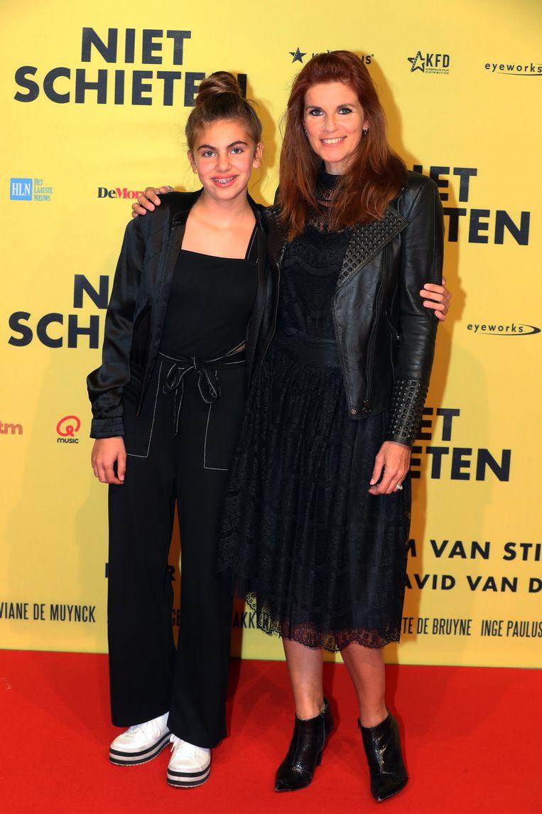 Katja Retsin en dochter Manou