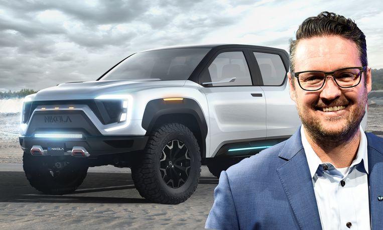 Trevor Milton, CEO van Nikola Motor Company, wil later dit jaar de pick-up Badger voorstellen tijdens een groots evenement. Je kan de wagen vanaf 29 juni reserveren.
