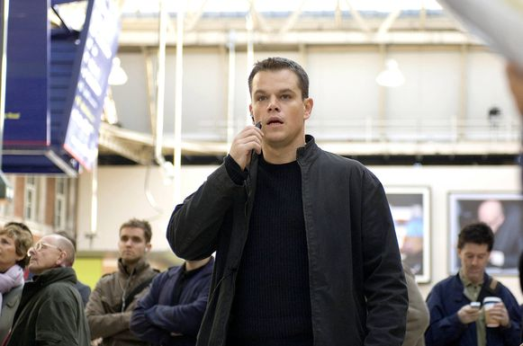 Matt Damon in 'The Bourne Ultimatum'