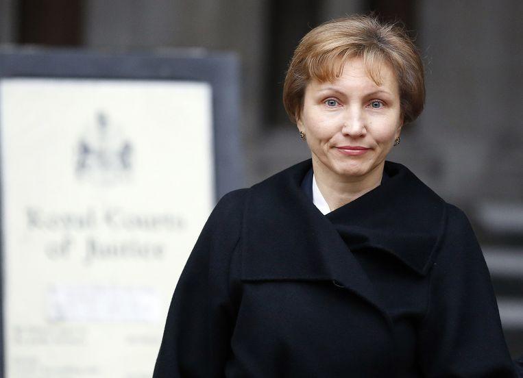 Weduwe Marina Litvinenko Beeld ap