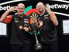 Van Gerwen en Van Barneveld pakken opnieuw 'wereldtitel'