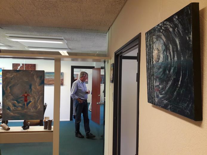 Galerie Bank in Aagtekerke toont werk van zes amateur-kunstenaars.