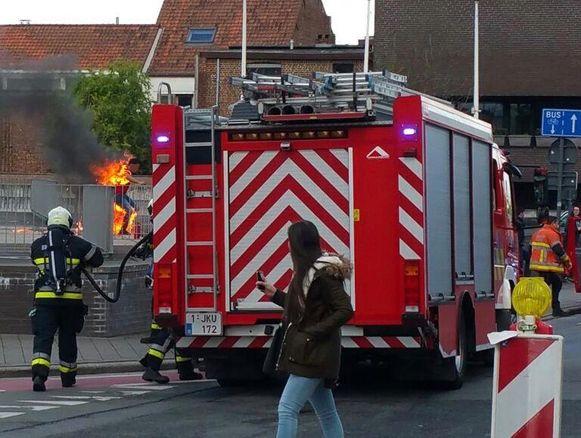 De man overgoot zichzelf met benzine en stak zichzelf vervolgens in brand.