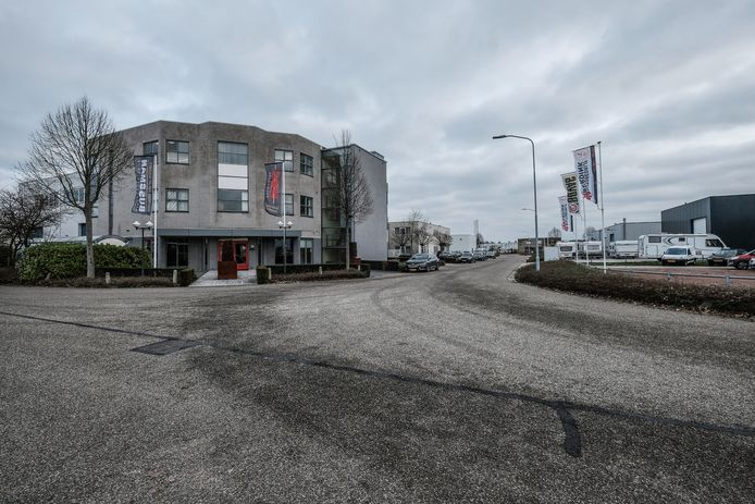 Industrieterrein Veeneslat Zuid in Winterswijk, bedrijven kunnen nergens heen omdat er te weinig ruimte ruimte is.