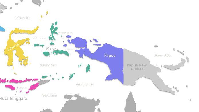 Provincie Papoea, Indonesië