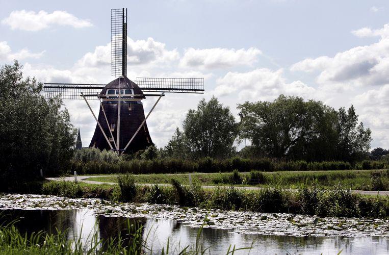 De molen in Driemond. Beeld anp