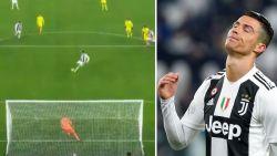VIDEO. 39-jarige keeper stopt strafschop van Cristiano Ronaldo, maar Juventus wint toch eenvoudig van rode lantaarn Chievo