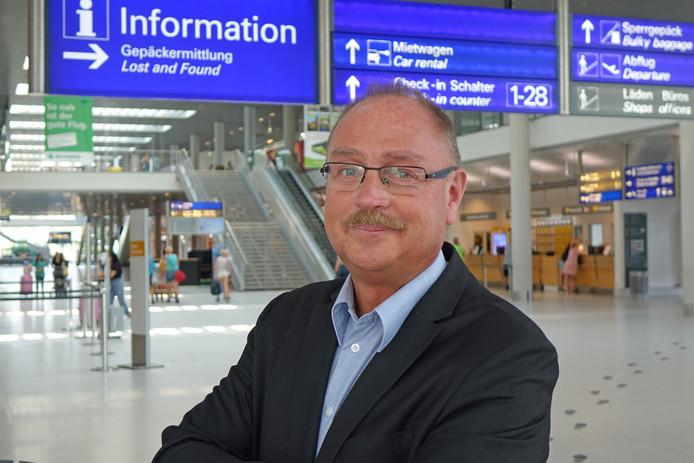 Detlef Döbberthin, marketingdirecteur Flughaven Münster-Osnabrück (FMO)